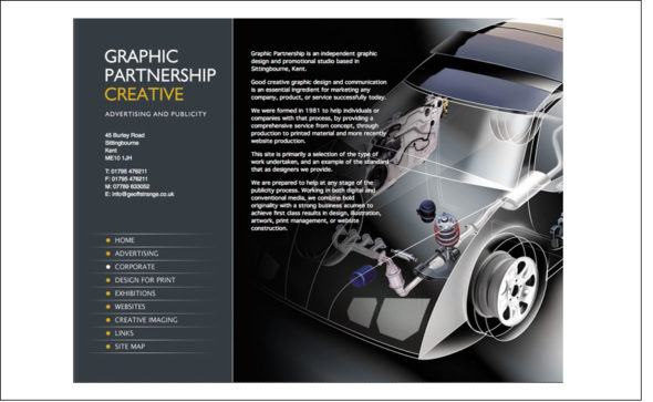 Graphic Partnership Web Site