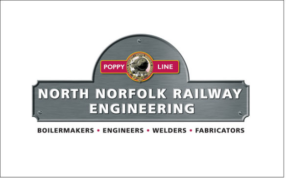 North Norfolk Railway Engineering Logo